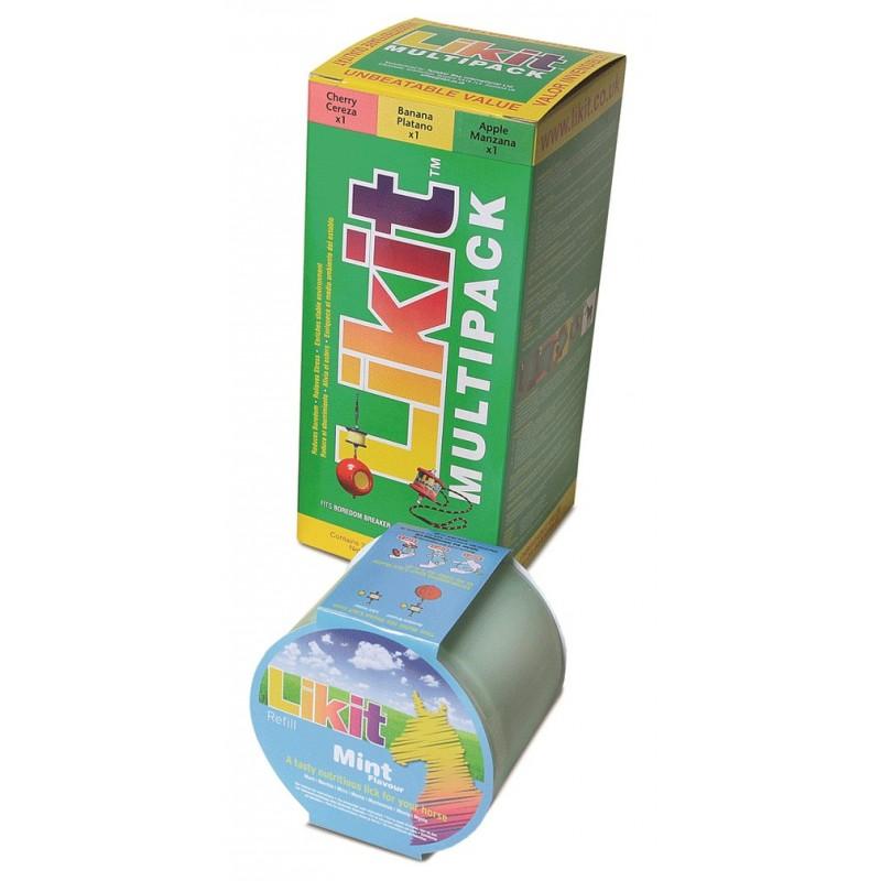 Likit - Pierre à sel 650grs Multipack