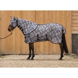 Equi-Sky - Chemise anti-mouche Camouflage Full Cover