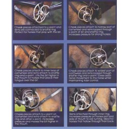 Metalab - Filet releveur Whitaker recouvert cuir